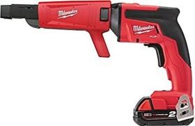 Milwaukee M18 FSGC-202X Fuel cordless drywall screwdriver incl. case + 2 Batteries 2.0Ah (4933459199)