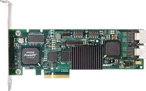 LSI 3ware Escalade 9650SE-8LPML bulk, PCIe x4