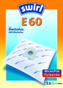 Swirl E60 MicroPor vacuum cleaner bag