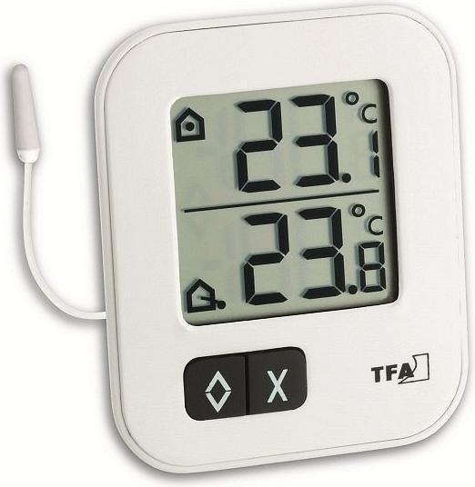 TFA Dostmann Moxx temperature station digital white (30.1043.02)