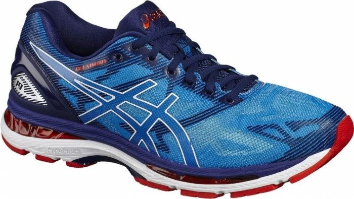 online retailer f4516 b4101 Asics gel-Nimbus 19 diva blue/white/indigo blue (men) (T700N-4301) from £  116.94