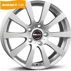Borbet C2C 8.0x18 5/108 ET45 (various colours)