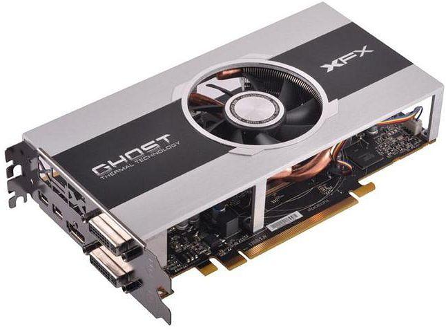 XFX Radeon HD 7850 Core Edition, 2GB GDDR5, DVI, HDMI, 2x mDP (FX-785A-CNJC)