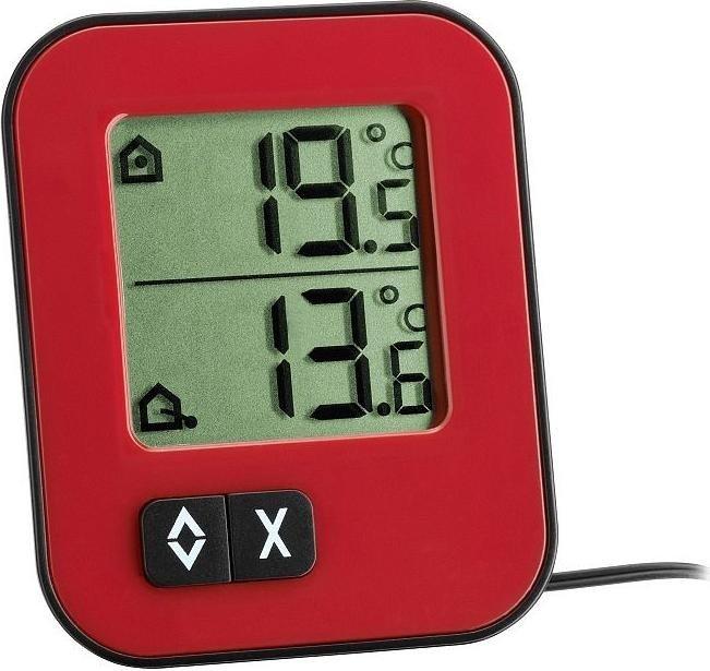 TFA Dostmann Moxx temperature station digital red (30.1043.05)