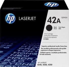 HP Toner 42A schwarz (Q5942A)