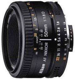 Nikon AF 50mm 1.8D black (JAA013DA)