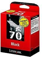 Lexmark 70 Druckkopf mit Tinte schwarz, 2er-Pack (80D2123/80D2957) -- via Amazon Partnerprogramm
