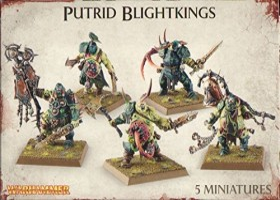 Games Workshop Warhammer Age of Sigmar - Maggotkin of Nurgle - Putrid Blightkings (99120201041)