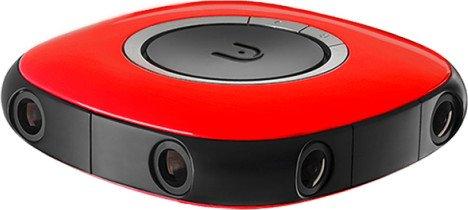 VUZE 3D 360 Camera red (VUZE-1-RED)