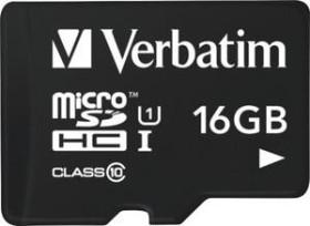 Verbatim R45 microSDHC 16GB, Class 10 (44058)