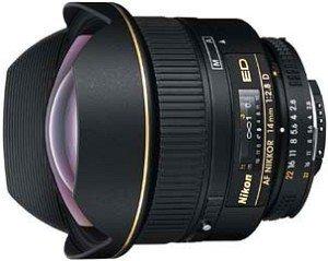 Nikon AF 14mm 2.8D ED schwarz (JAA130DA)