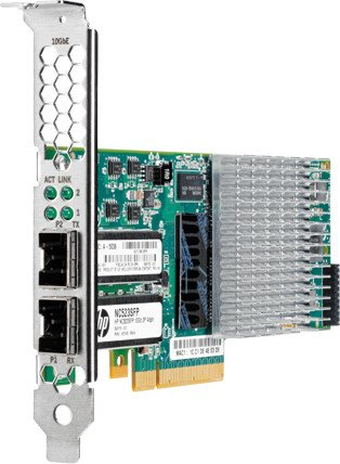 HP NC523SFP, 2x SFP+, PCIe 2.0 x8 (593717-B21)