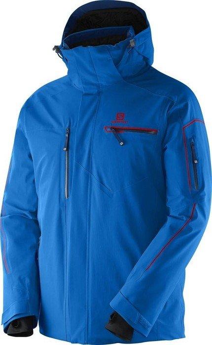 Ski Jacke Salomon Brilliant Grau Herren |