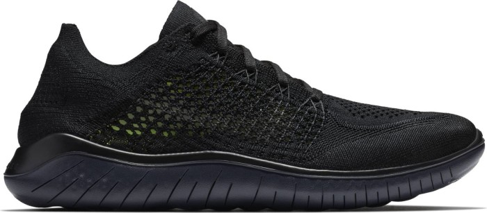 Nike Free RN Flyknit 2018 blackanthracite (men) (942838 002) from £ 82.94