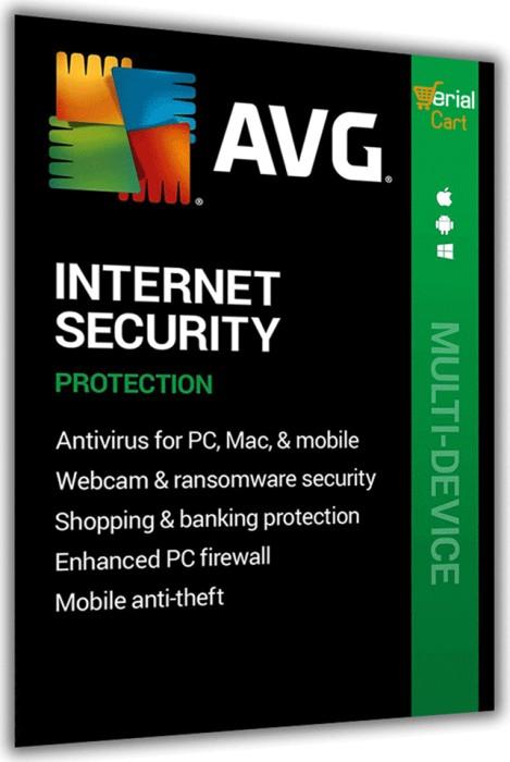 AVG Internet Security 2021, 5 User, 1 Jahr, ESD (deutsch) (PC) -- von SerialCart