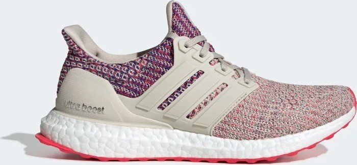 new concept 642cd 4c229 adidas Ultra Boost clear brown/shock red/active blue (ladies) (F36122) from  £ 97.71