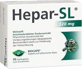 Hepar-SL 320mg Hartkapseln, 50 Stück