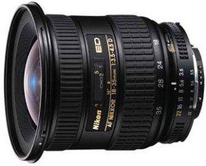 Nikon AF 18-35mm 3.5-4.5D ED schwarz (JAA772DA)
