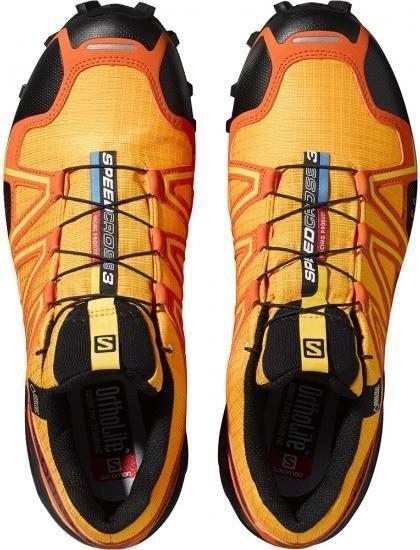 Salomon Speedcross 3 GTX yellow goldtomato redblack