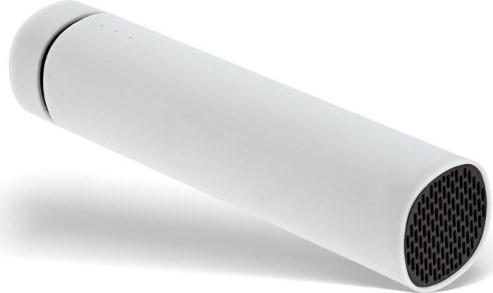 InLine OEM USB Soundbank Powerbank 2200mAh weiß (S-01472W)