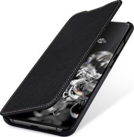 Stilgut Book Type Leather Case für Samsung Galaxy S20 Ultra schwarz (B085S12FGY)