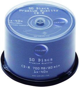 Yakumo CD-R 80min/700MB, 50er-Pack