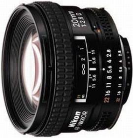 Nikon AF 20mm 2.8D black (JAA127DA)