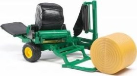 Bruder Professional Series Bale Wrapper with Round Bales (02122)