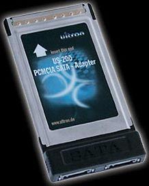 Ultron US-200, 1x SATA 1.5Gb/s, Cardbus (24448)