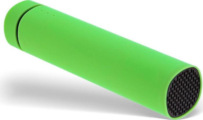 InLine OEM USB Soundbank Powerbank 2200mAh grün (S-01472G)