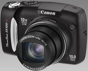 Canon PowerShot SX120 IS black (3634B017)