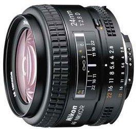 Nikon AF 24mm 2.8D black (JAA125DA)