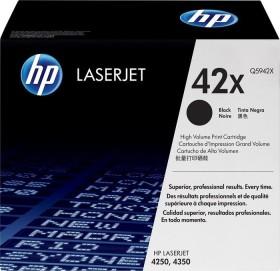 HP Toner 42X schwarz (Q5942X)