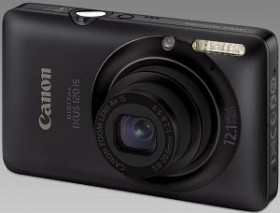 Canon Digital Ixus 120 IS schwarz (3966B008)