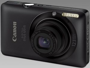 Canon Digital Ixus 120 IS schwarz (3966B008)
