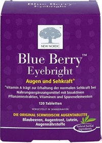 New Nordic Blue Berry tablets, 120 pieces