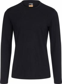 Icebreaker Merino 200 Oasis Crewe Shirt langarm schwarz (Herren) (104365-001)