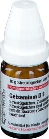 DHU Gelsemium D8 Globuli, 10g