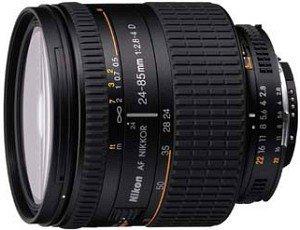 Nikon AF 24-85mm 2.8-4.0D czarny (JAA774DA)