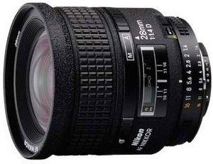 Nikon AF 28mm 1.4D schwarz (JAA124DA)