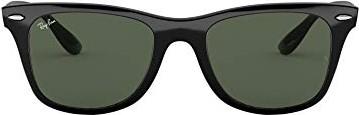 RAY BAN RAY-BAN Herren Sonnenbrille »WAYFARER LITEFORCE RB4195«, schwarz, 601/71 - schwarz/grün