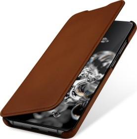 Stilgut Book Type Leather Case für Samsung Galaxy S20 Ultra braun (B085S1NCN9)