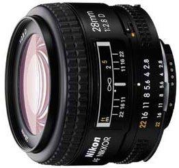 Nikon AF 28mm 2.8D schwarz (JAA128DA)