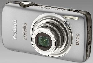 Canon Digital Ixus 200 IS silver (3638B008)