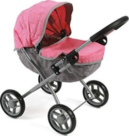 Bayer Chic 2000 Lilli Kombipuppenwagen melange pink/grau (550 57)