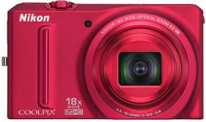 Nikon Coolpix S9100 red (VMA772E1)