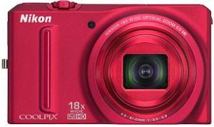 Nikon Coolpix S9100 red (VMA772E1)