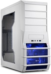 Sharkoon Vaya Value white with side panel window
