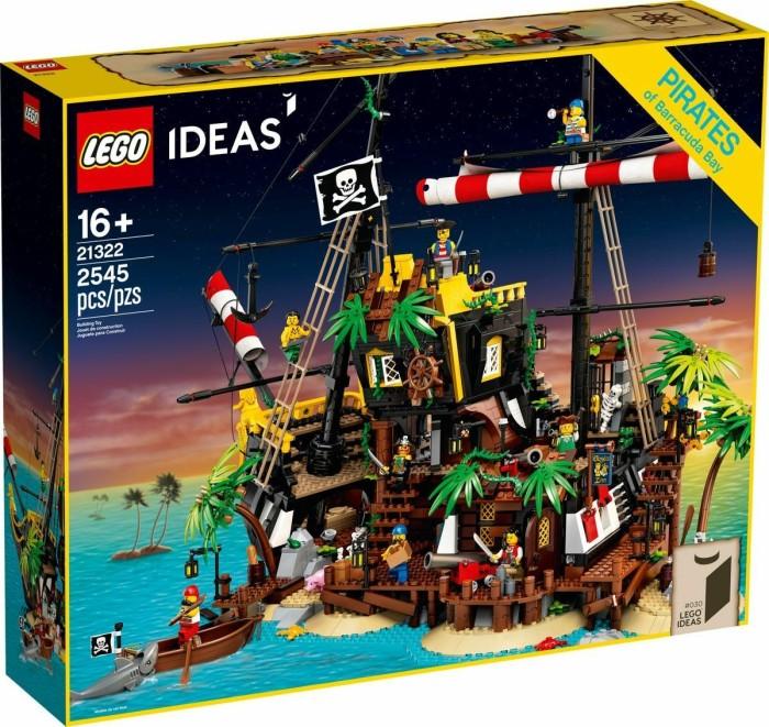 LEGO Ideas - Piraten der Barracuda-Bucht (21322)