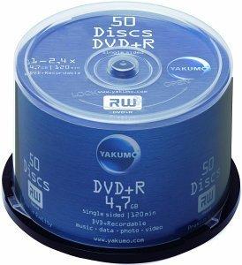 Yakumo DVD+R 4.7GB, 50-pack